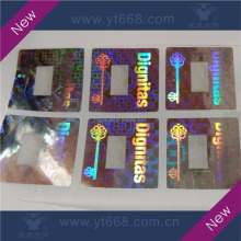 Wash aluminum custom design dot matrix laser stickers