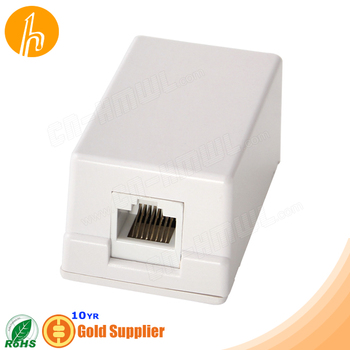 Surface mount RJ45 Modular Box