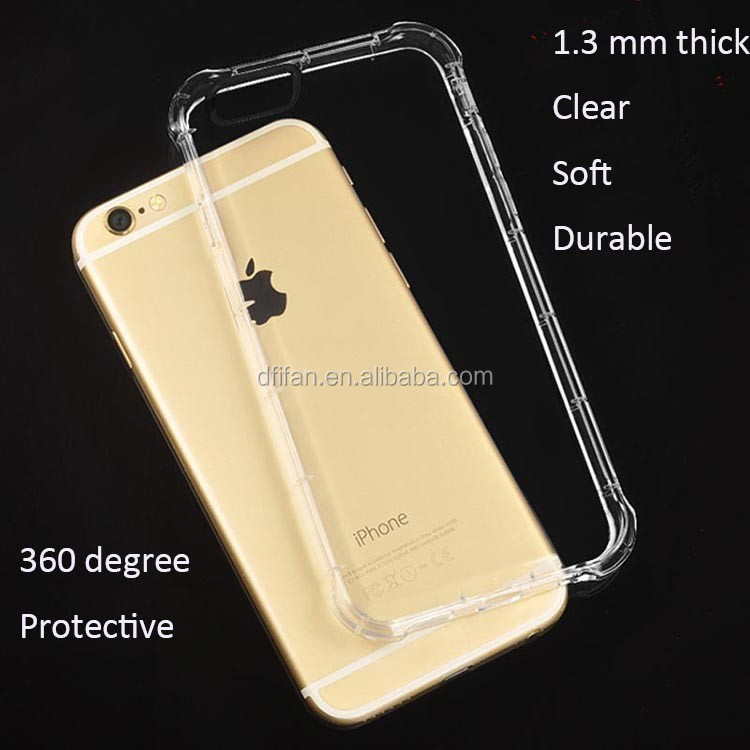 for apple iphone 6 case Ultra thin Clear tpu shockproof case for iphone6 6S
