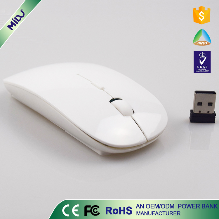 MIDU M-S02 Unique High-tech Rechargeable 2.4G Wireless Mouse Slim Design