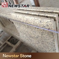 Popular Material Counter With Sink Cutout Kitchen Stone Prefab Granite Top
