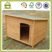 SDD06 classic fir wood dog kennel