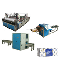 High speed toilet roll paper machine production line price