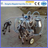 Single and double barrel cow milking machine price for men in india