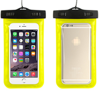 New Arrival Promotional PVC Diving Bag For iPhone 6 Plus Samsung Dmart Mobile Phone Bag ABS Clip IPX8 Waterproof Case