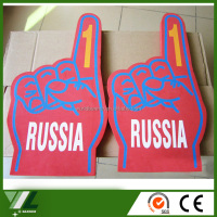Giant printing eva hand make foam finger