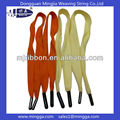 fashion flat cotton shoelace with metal aglets