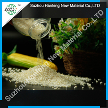 biodegradable cornstarch plastic raw material for injection molding