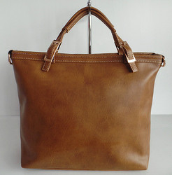 brown fashion 2015 popular model in Middle East tote ladies bags