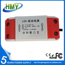 China LED Driver Exporter 12V LED Driver 350mA Low Ripple