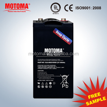 24v 48v 96v battery bank MOTOMA Solar Gel Deep Cycle VRLA BATTERY