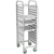 12 layers stainless steel kitchen tray trolley for sale BN-T01