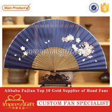 Customized Logo Printed Fashionable Hand Folding Fan