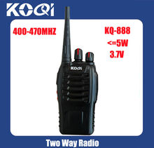 KQ-888 Cheap long range walkie talkie with 2 way radio antennas