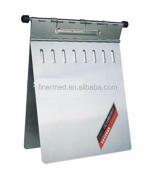 Metal stainless steel medical chart holder