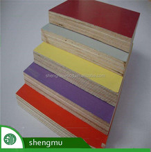 12MM 15MM 18MM two time format good quality white melamine plywood price