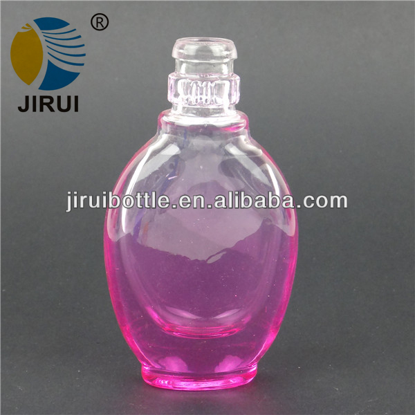 color coating process perfume bottle