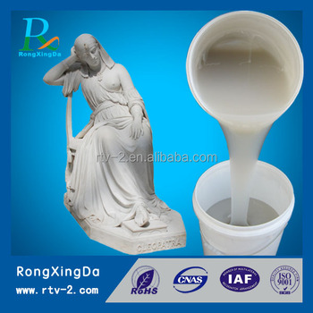 rtv2 liquid silicone rubber for statue sculpture