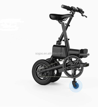 Electric bicycle intelligent electric moped/folded bike instead of walking