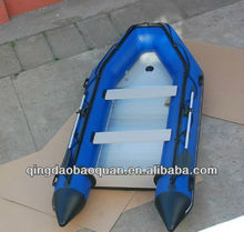 3.80 meter inflatable boat with aluminum floor BQ380