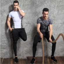 leggings sport fitness mens fitness shorts pants / reflective fitness vest
