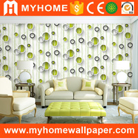 Leading Guangzhou Wall Paper Manufacturer MyHome Supply Durable Vinyl 3d Effect Wallpaper for Wall
