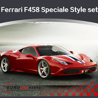 Professional Tuning F458 Speciale Style body kit For 2010-2015 Ferrari F458 frp bumper /carbon wing/carbon rear diffuser