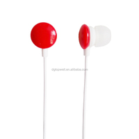 consumer electronics promotional candy earphones for gifts