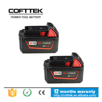 Brand New Cordless Drill Battery 18v For Milwaukee power tool
