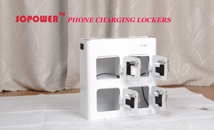 Sopower electronic cellphone mobile charging locker luoyang