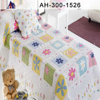 Fancy Cotton Kids Bedspread Made in China