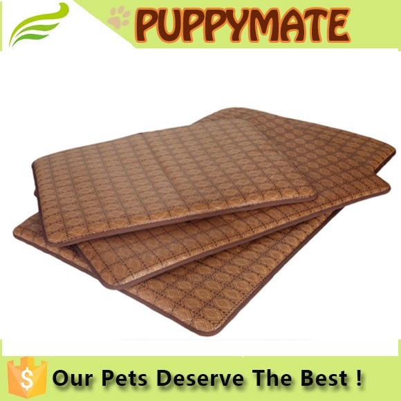 Toprank waterproof pet cooling bamboo mat/pet pads/cool mat for summer
