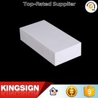 China supplier manufacture latest two sides laminated pvc foam sheet
