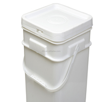 plastic pail, plastic barrel with handle