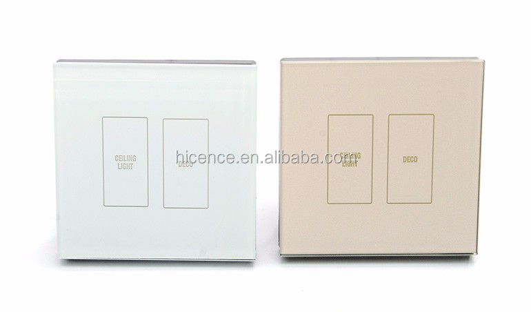 Factory Selling Smart Hotel DND Switch with MUR Doorbell and Energy Saving Switch