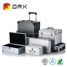 Customized Large Silver Aluminum Hard Tool Case