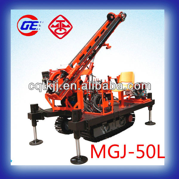 2015 New Condition and Diesel Power Type MGJ-50L hydraulic engine HDD crawler mounted core drilling rig for sale in Japan