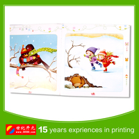professional english child book Story Book in paper back Cover