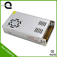 Free shipping 400w 12v constant voltage led switching supply power