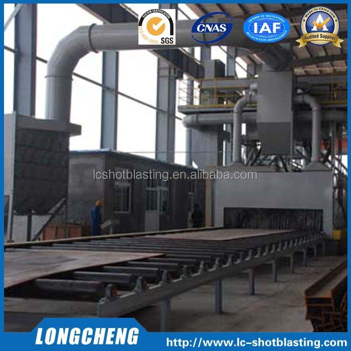 Good Quality Roller Conveyor Shot Blasting Machine