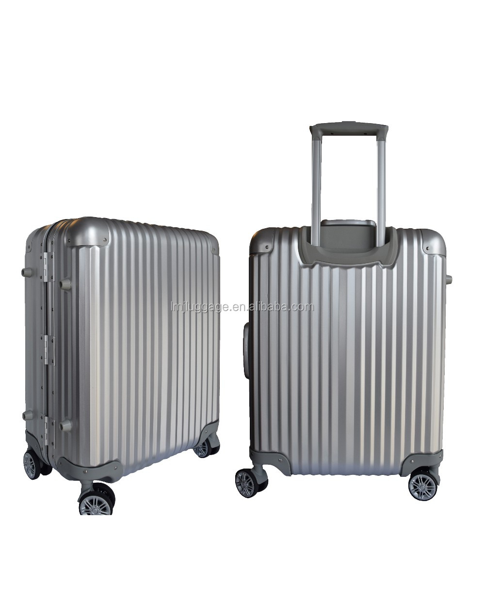 6 color Aluminum shell Multiwheel Hardside spinner Suitcases Luggage travel case wheel case