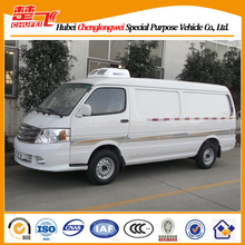 Foton View 4*2 gasoline engine refrigerated van,truck with cold room