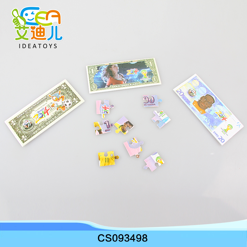 Promotion Hot selling Paper toys puzzle paper for kids