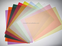 A0 Sheet tracing paper with different color