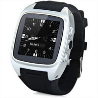 X01 Weathers WIFI GPS MTK6572 dual core android smart watch