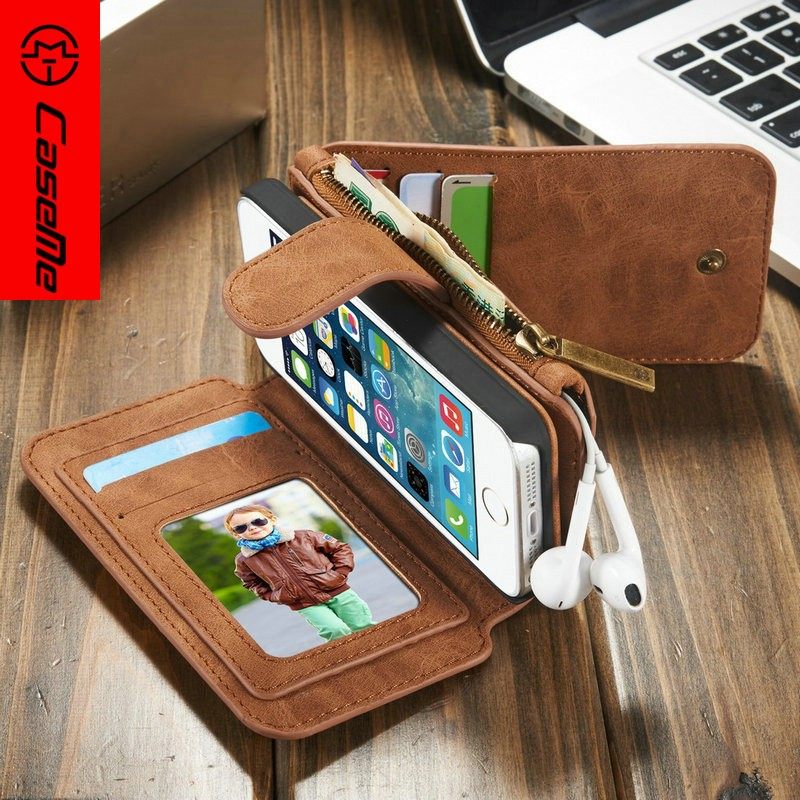 New Arrival Wallet case for i phone 5 5s for iphone 5 leather case for iphone5 case for iphone se