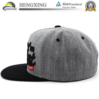 high quality custom design your own fitted snapback cap