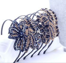 hot sale han edition popular temperament crystal girls hair band