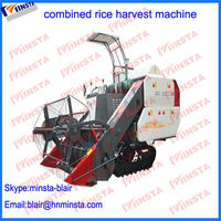 Tracked Type stable working combine rice harvest from Blair 0086-150-9309-3205