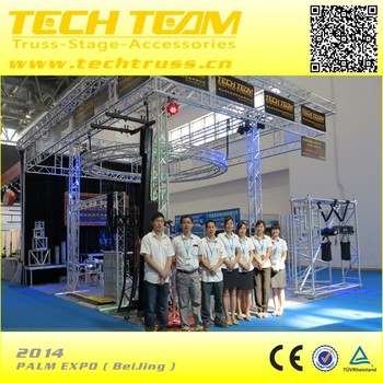 PALM EXPO 2014 BeiJing aluminum exhibition booth design